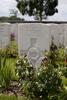 Headstone of Private Arthur Buchan (81548). Mendinghem Military Cemetery, Poperinge, West-Vlaanderen, Belgium. New Zealand War Graves Trust (BECQ1167). CC BY-NC-ND 4.0.