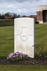Headstone of Second Lieutenant Autini Pitara Kaipara (16/10). Prowse Point Military Cemetery, Commines-Warneton, Hainaut, Belgium. New Zealand War Graves Trust (BEDN7671). CC BY-NC-ND 4.0.