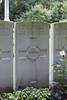 Headstone of Rifleman Robert Mawhinney (23/498). Ploegsteert Wood Military Cemetery, Comines-Warneton, Hainaut, Belgium. New Zealand War Graves Trust (BEDI1529). CC BY-NC-ND 4.0.