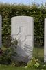 Headstone of Shoeing Smith Corporal Herbert Oliver Bishop (2/201A). Westhof Farm Cemetery, Heuvelland, West-Vlaanderen, Belgium. New Zealand War Graves Trust (BEEO1650). CC BY-NC-ND 4.0.