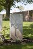 Headstone of Private Charles Leonard Watson (44044). Poelcapelle British Cemetery, Langemark-Poelkapelle, West-Vlaanderen, Belgium. New Zealand War Graves Trust (BEDJ8948). CC BY-NC-ND 4.0.