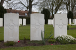 Headstone of Private Henry Hauiti (16/950). Prowse Point Military Cemetery, Commines-Warneton, Hainaut, Belgium. New Zealand War Graves Trust (BEDP5837). CC BY-NC-ND 4.0.