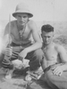 Photograph of Patrick Francis Harney (left) and Eric Batchelor (right), c. Second World War. From the collection of Arthur William (Moss) Squire 16770, 23 Battalion. Image kindly provided by Roger Sommerville (October 2019). Image may be subject to copyright restrictions.