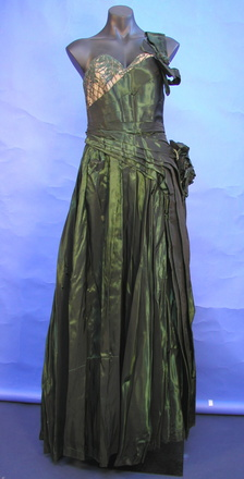 gown, front