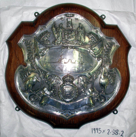 presentation shield, HMS New Zealand [1995x2.88.2]