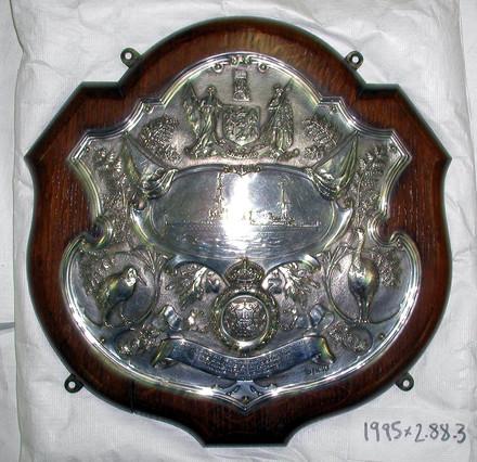 presentation shield, HMS New Zealand [1995x2.88.3]