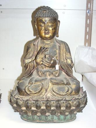 buddha, on stand