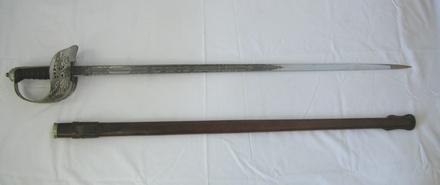 sword & scabbard [2001.025.153]